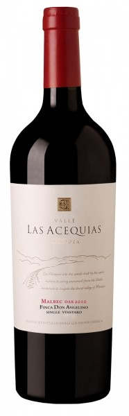 VALLE LAS ACEQUIAS - Single Vineyard Oak- Malbec