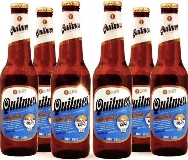 Cerveca Quilmes 6er-Set