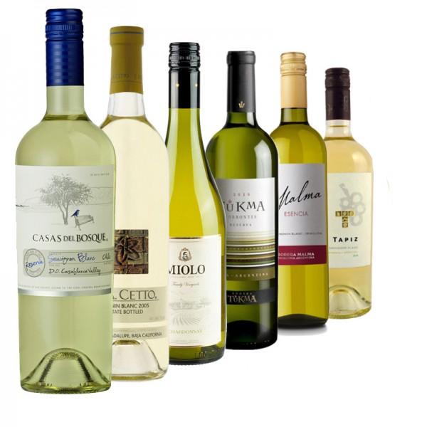 """Probierpaket """"Weißwein Best-Seller quer durch Südamerika"""""""