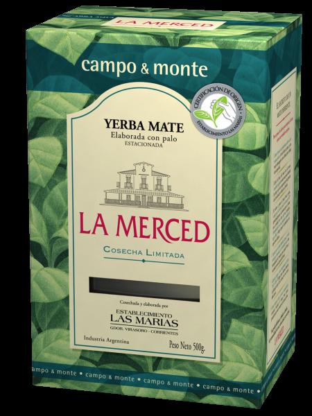 LA MERCED DE CAMPO/ MONTE Yerba- Mate/ Mate Tee mit Stängel