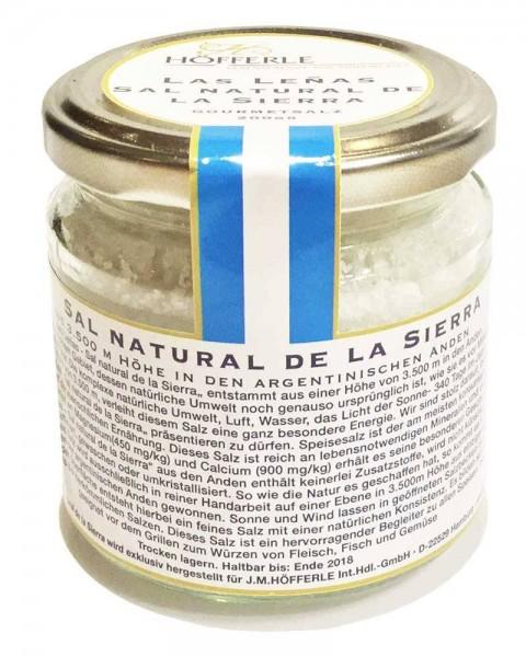 SALZ - Las Leñas (Sal natural de la Sierra - Salz aus den Anden aus 3.500 m Höhe)