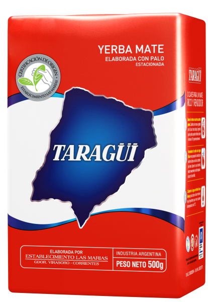 TARAGÜI Yerba Mate/ Mate Tee mit Stängel (500g)