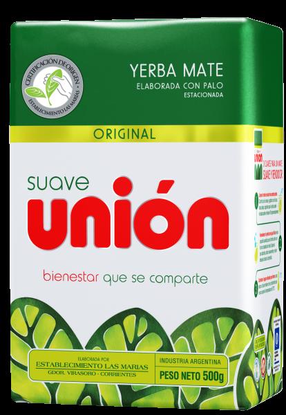 SUAVE UNION Yerba Mate/ Mate Tee mit Stängel (500g)