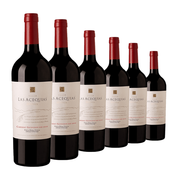 6 Flaschen Valle las Acequias Single Vineyard-OAK- Cabernet Sauvignon