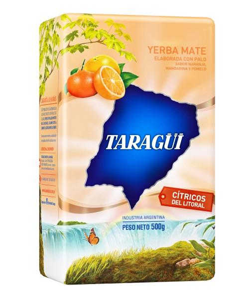 TARAGÜI Yerba Mate/ Mate Tee Cítricos del Litoral mit Stängel