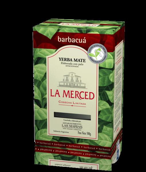 LA MERCED de BARBACUA Yerba- Mate/ Mate Tee mit Stängel